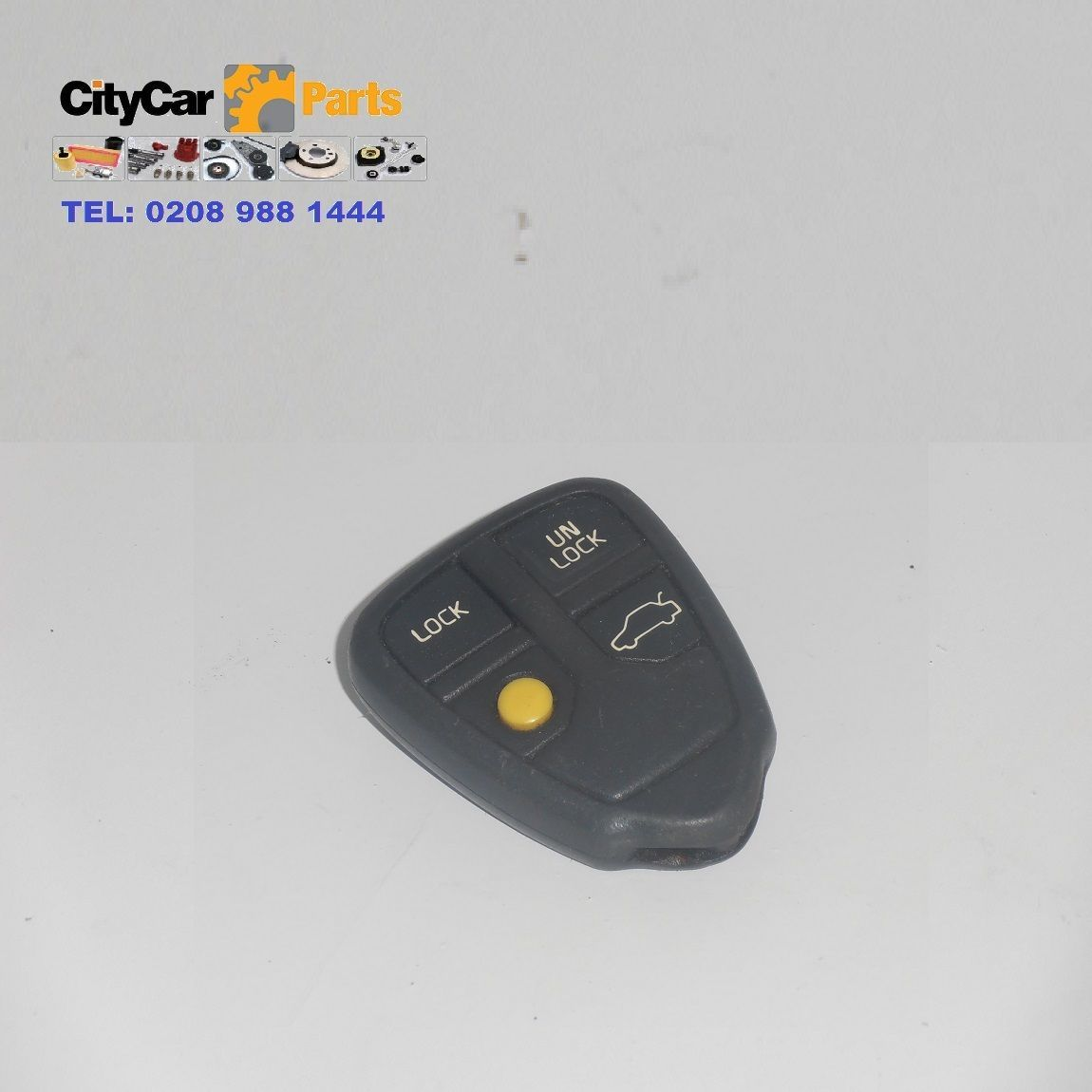 VOLVO S60 S80 V70 XC70 4 BUTTON REMOTE ALARM KEY FOB